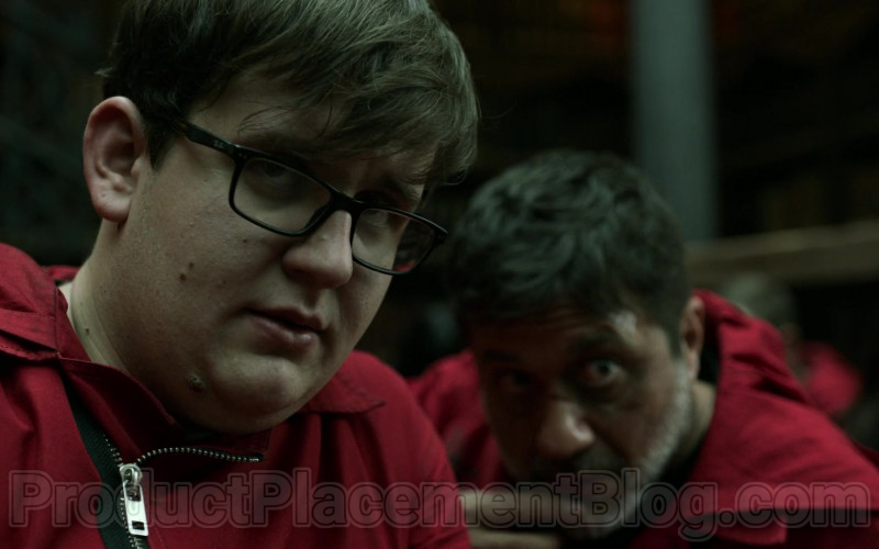 Ray-Ban Glasses For Men in Money Heist S04E06 TKO (2020)