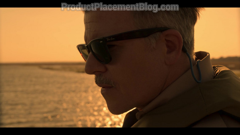 Ray-Ban Sunglasses of Cullen Moss as Deputy Victor Shoupe in Outer Banks S01E01 Pilot (2)