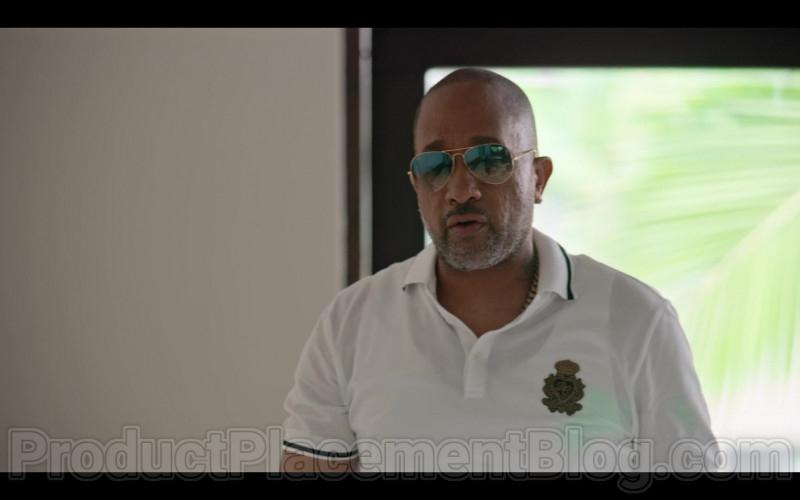 Ray-Ban Sunglasses of Kenya Barris in #blackAF S01E08 (1)