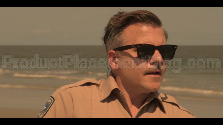 Ray-Ban Wayfarer Sunglasses Worn by Cullen Moss in Outer Banks S01E06 (2)