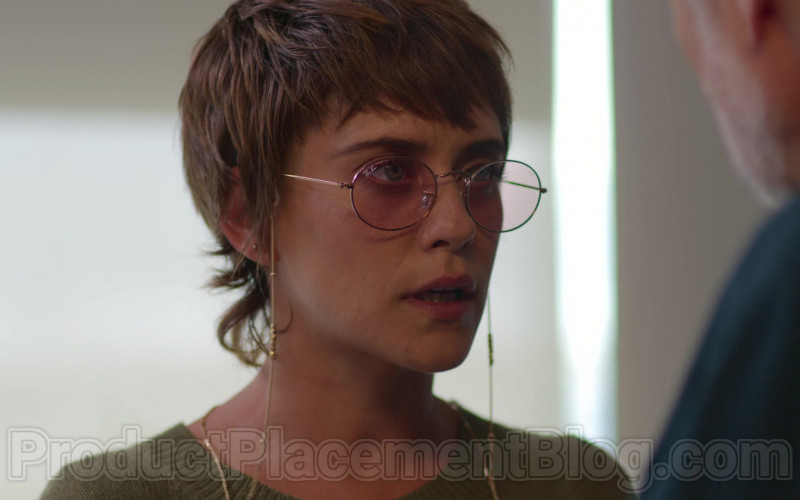 Ray-Ban Women's Round Eyeglasses in The House of Flowers S03E02