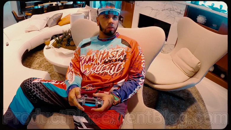 Real Hasta La Muerte Outfit of Anuel AA (1)