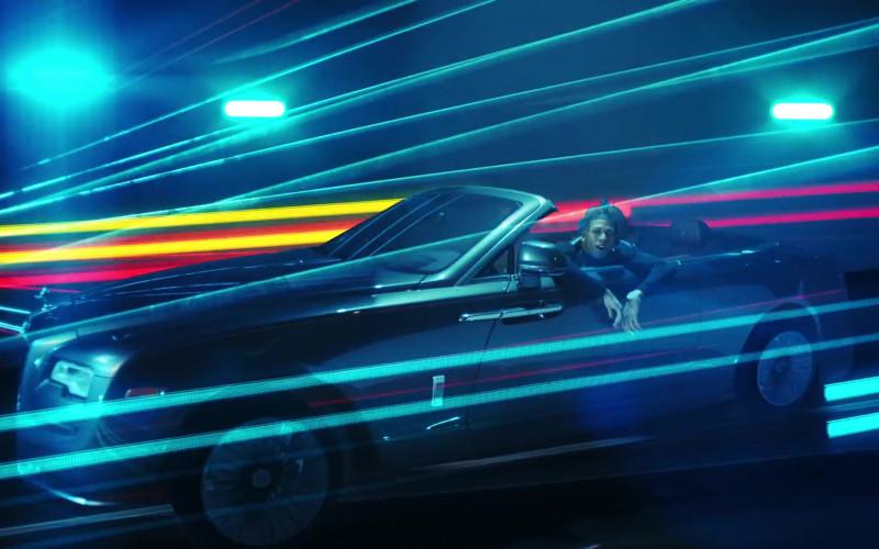 Rolls-Royce Dawn Convertible Car in Walk Em Down by NLE Choppa ft. Roddy Ricch (2)