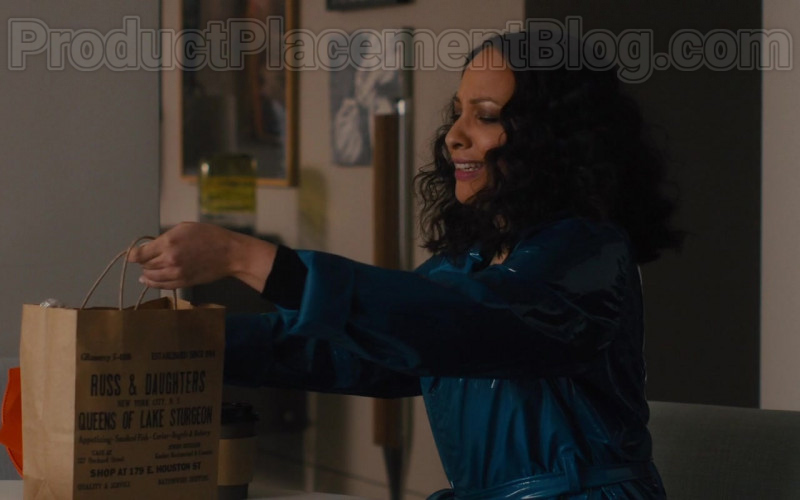 Russ & Daughters Paper Bag in The Photograph (2020)