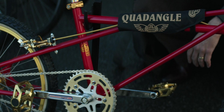 SE Bikes Racing Quadangle Bicycle in Home Before Dark S01E05