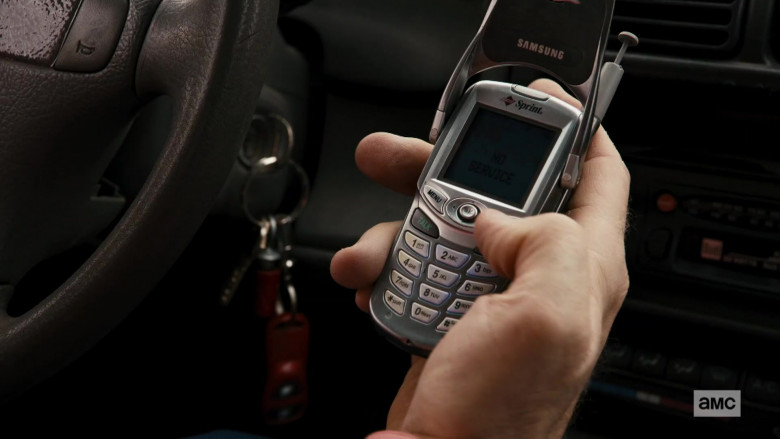 Samsung Sprint Mobile Phone of Bob Odenkirk in Better Call Saul S05E08
