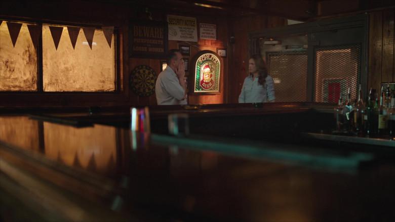 Schlitz Beer Sign in Brockmire S04E04 (1)