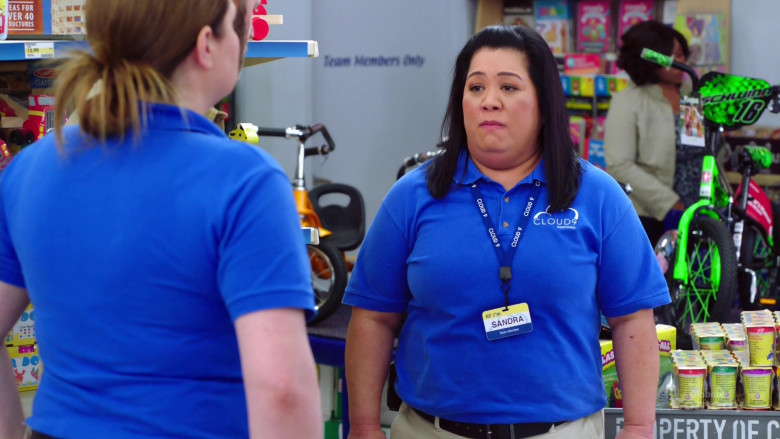 Schwinn Green Bicycle For Kids in Superstore S05E20
