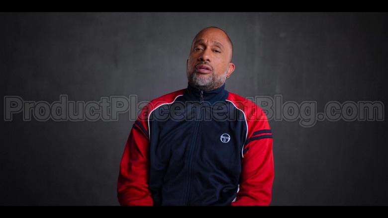 Sergio Tacchini Jacket of Kenya Barris in #blackAF S01E06 (1)