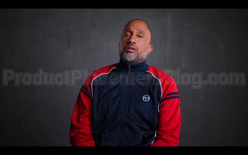 Sergio Tacchini Jacket of Kenya Barris in #blackAF S01E06 (1)