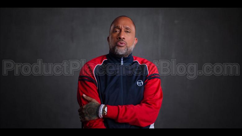 Sergio Tacchini Jacket of Kenya Barris in #blackAF S01E06 (2)