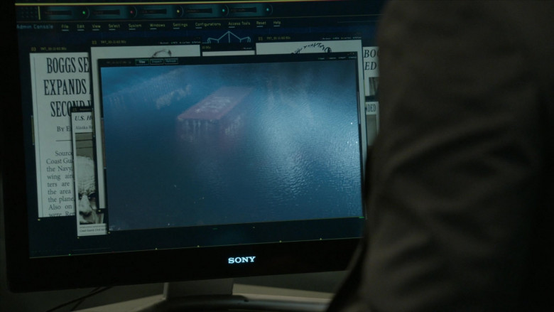 Sony Computer Monitor in The Blacklist S07E14