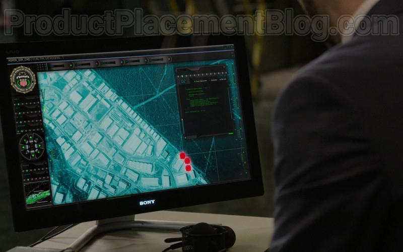 Sony Computer Monitors in The Blacklist S07E15 (2)