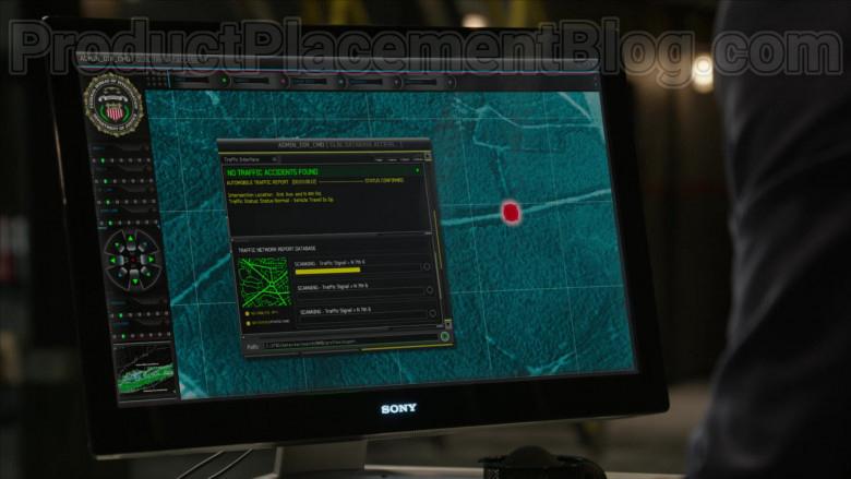 Sony Computer Monitors in The Blacklist S07E15 (3)