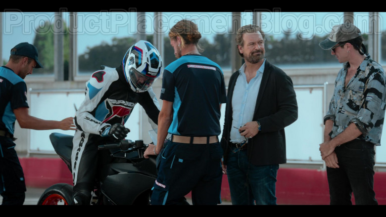 Spidi Motorcycle Jacket and Pants and Nolan Helmet in Summertime S01E02 (1)