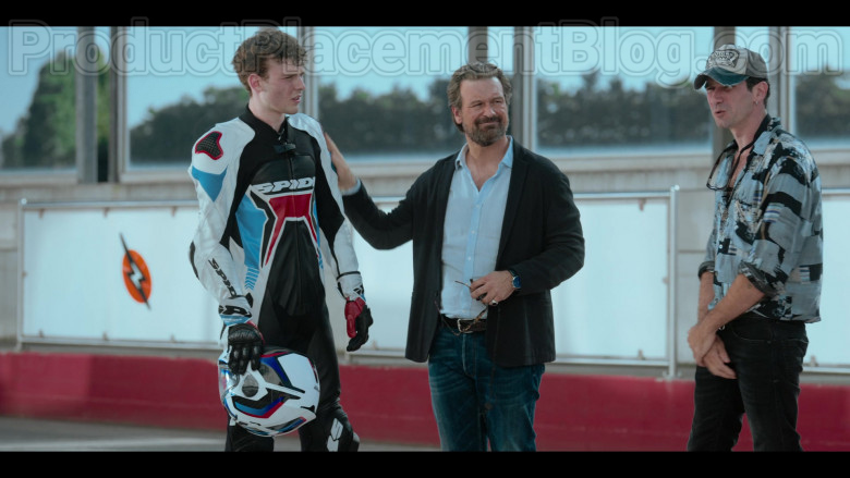 Spidi Motorcycle Jacket and Pants and Nolan Helmet in Summertime S01E02 (2)