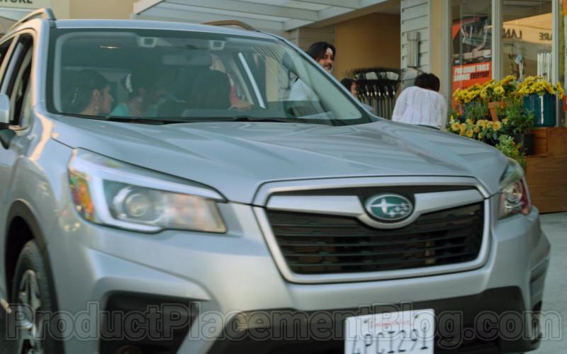 Subaru Car Driven by Poorna Jagannathan as Nalini Vishwakumar in Never Have I Ever S01E04 (1)