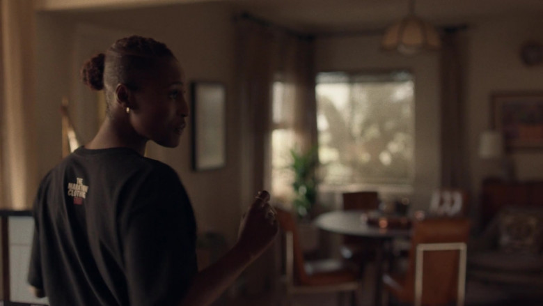The Marathon Clothing Black Tee For Women in Insecure S04E01 (2)
