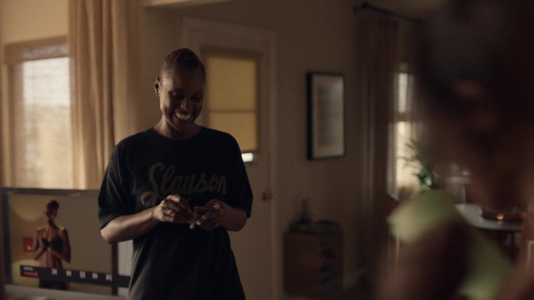 The Marathon Clothing Black Tee For Women in Insecure S04E01 (3)