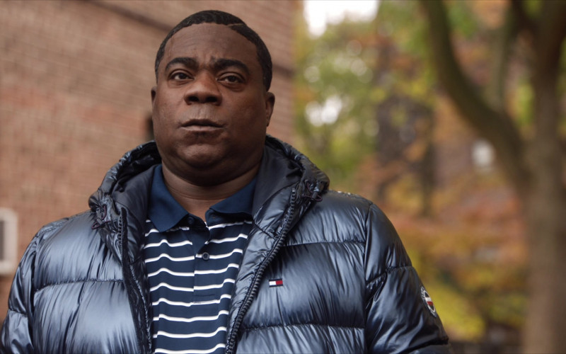 Tommy Hilfiger Down Puffer Jacket of Tracy Morgan in The Last O.G. S03E01 (4)