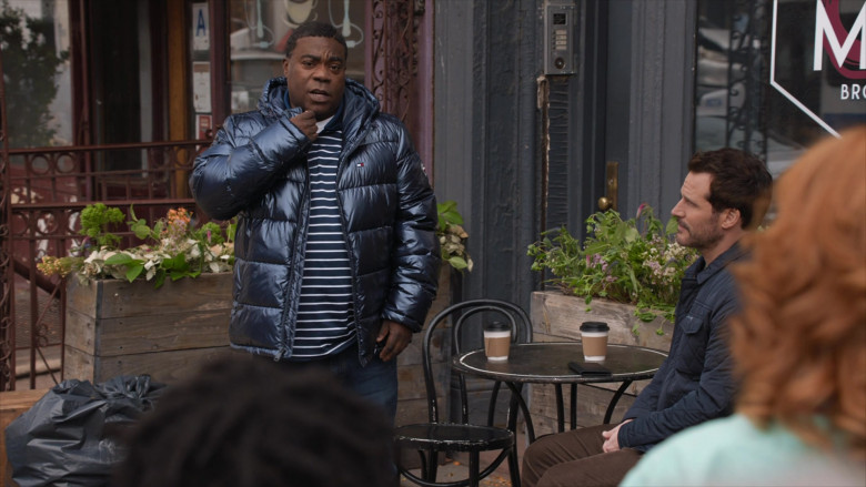 Tommy Hilfiger Down Puffer Jacket of Tracy Morgan in The Last O.G. S03E01 (9)