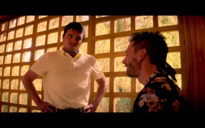 Tommy Hilfiger Shirt of Josh Hutcherson in Future Man S03E07