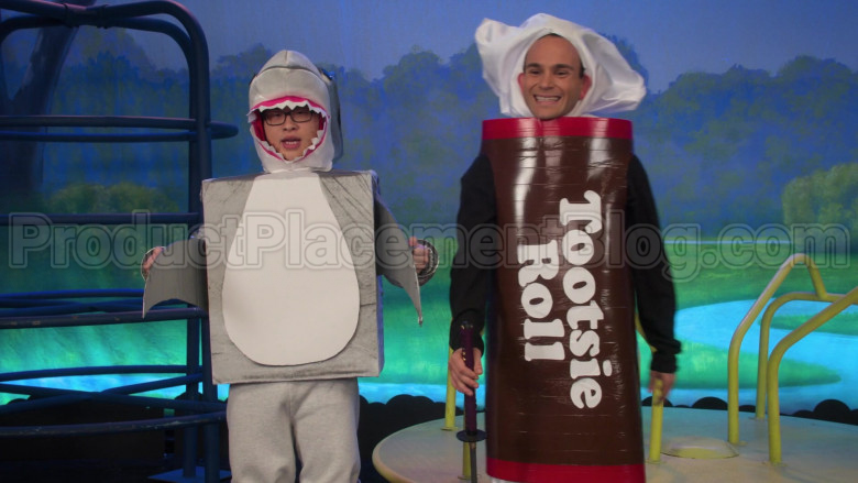 Tootsie Roll Candy Costume Worn by Troy Gentile as Barry in The Goldbergs S07E20 (1)