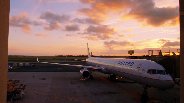 United Airlines Aircraft in Hawaii Five-0 S10E22