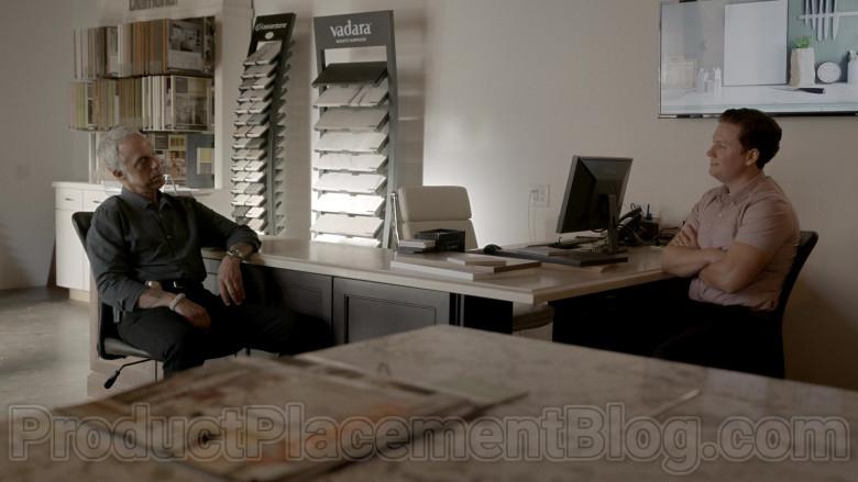 Vadara Quartz Surfaces in Bosch S06E05