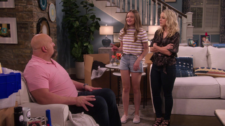 Vans Checkerboard Slip-On Shoes Worn by Reylynn Caster in The Big Show Show S01E07