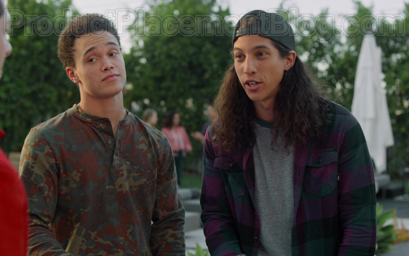Vans Flannel Shirt for Men in Never Have I Ever S01E08 (1)