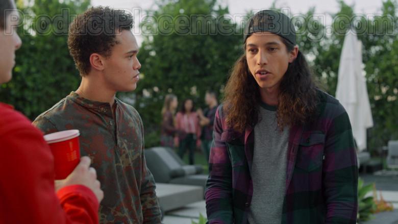 Vans Flannel Shirt for Men in Never Have I Ever S01E08 (2)