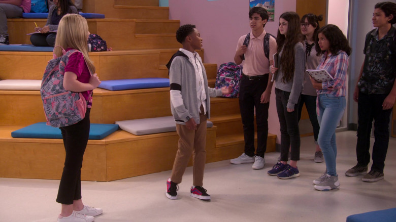 Vans Sneakers Worn by Dallas Young in The Big Show Show S01E03