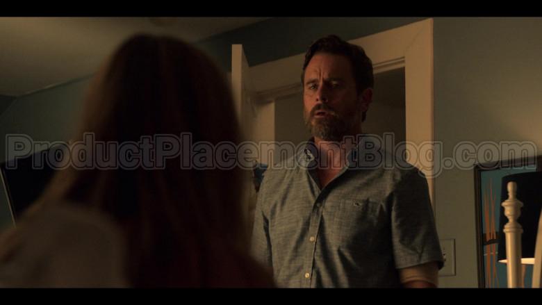 Vineyard Vines Short Sleeve Shirt of Charles Esten as Ward Cameron in Outer Banks TV Show