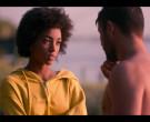Woolrich Yellow Hoodie of Rebecca Coco Edogamhe in Summertim...