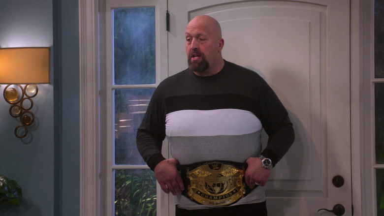 World Wrestling Entertainment Belt Worn by Paul Donald Wight II as Big Show