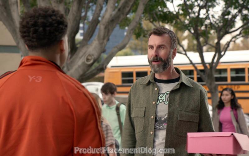 Y-3 Men's Orange Jacket of Marcus Scribner in Black-ish S06E21 (3)