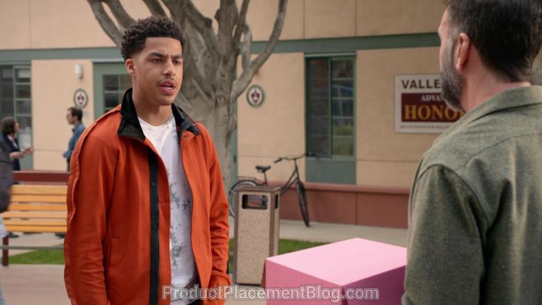Y-3 Men's Orange Jacket of Marcus Scribner in Black-ish S06E21 (4)
