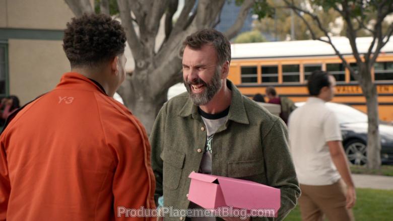 Y-3 Men's Orange Jacket of Marcus Scribner in Black-ish S06E21 (5)