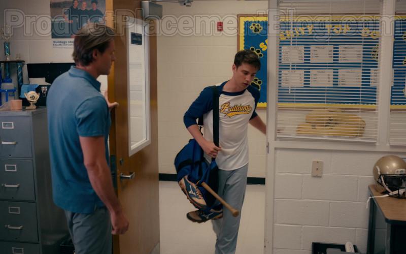 Actor Carson Rowland as Ty Wearing Mizuno Baseball Shoes in Sweet Magnolias S01E06 TV Show
