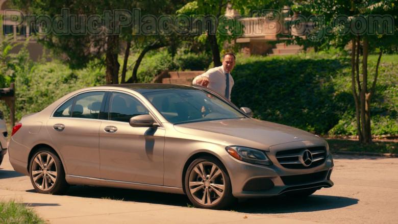 Actor Chris Klein as Bill Townsend Using Mercedes-Benz C-Class Car in Sweet Magnolias S01E06 Netflix TV Show (1)