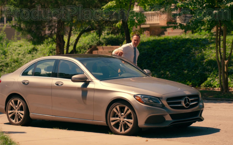 Actor Chris Klein as Bill Townsend Using Mercedes-Benz C-Class Car in Sweet Magnolias S01E06 Netflix TV Show (1)