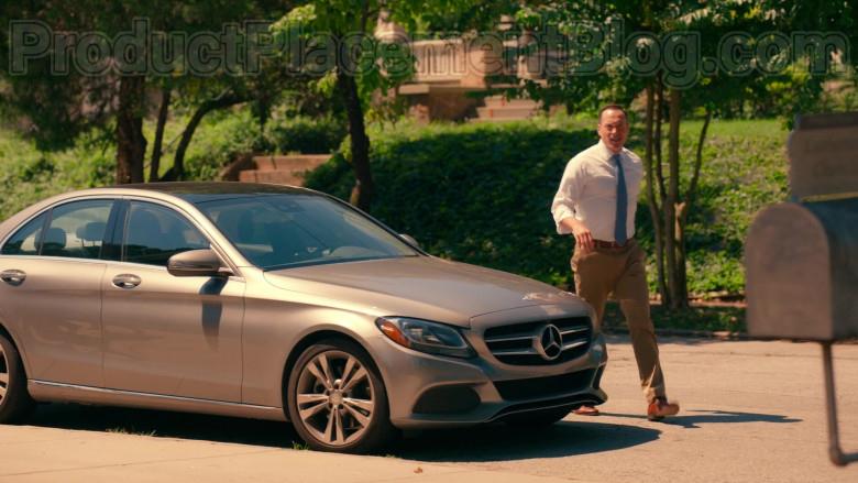 Actor Chris Klein as Bill Townsend Using Mercedes-Benz C-Class Car in Sweet Magnolias S01E06 Netflix TV Show (2)