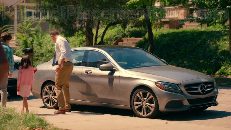 Actor Chris Klein as Bill Townsend Using Mercedes-Benz C-Class Car in Sweet Magnolias S01E06 Netflix TV Show (3)