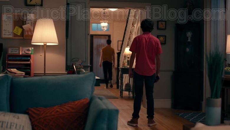 Actor Logan Allen as Kyle Townsend Wearing Vans Sneakers in Sweet Magnolias S01E06 Netflix TV Show