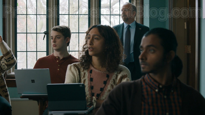 Actor Using Microsoft Surface Laptop in Billions S05E04 Opportunity Zone (2020)