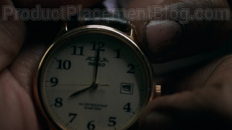 Actor Using Timex Acqua Indiglo Wrist Watch in Snowpiercer S01E01 TV Show (3)