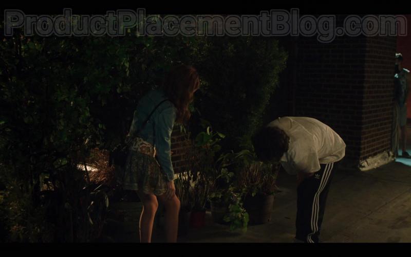 Actor Wearing Adidas Men's Black Pants in Love Life S01E03 Danny Two Phones (2020)
