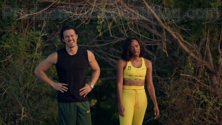 Actor Wearing Nike Men's Green Shorts Outfit in Insecure S04E07 Lowkey Trippin' (2020) TV Show