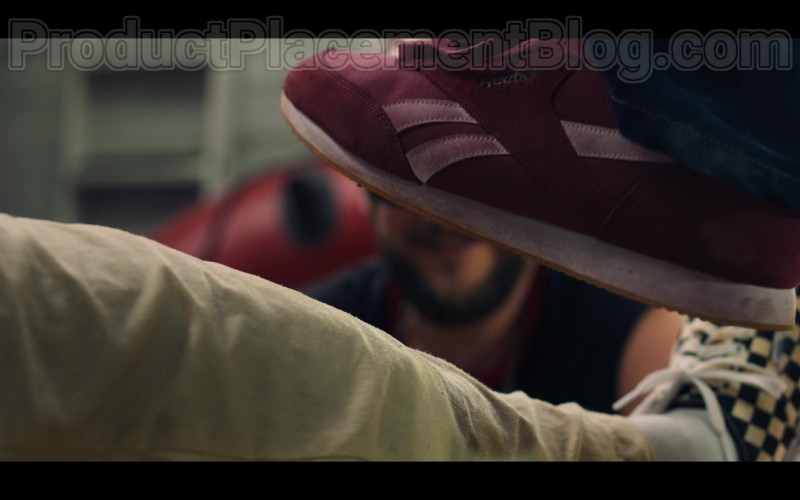 Actor Wearing Reebok Sneakers For Men in White Lines S01E02 by Netflix (2)